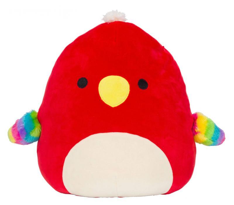 Paco a papagáj 20cm plüssjáték - SQUISHMALLOWS