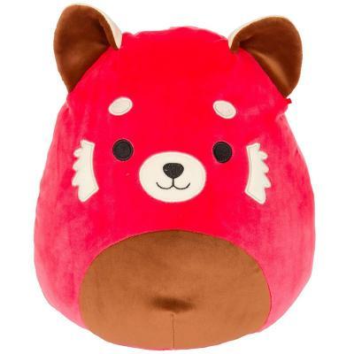 Sziszi a piros mosómedve 20cm plüssjáték - SQUISHMALLOWS