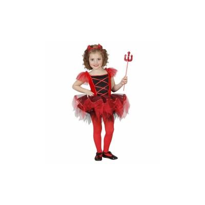 Balerina ördög gyerek jelmez, 110-es méretben