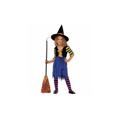 Boszorkány gyerek jelmez, 116-os méretben