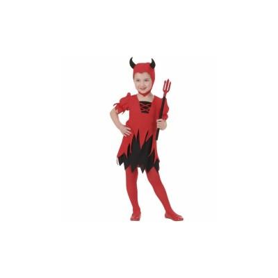 Ördöglány gyerek jelmez, 104-es méretben