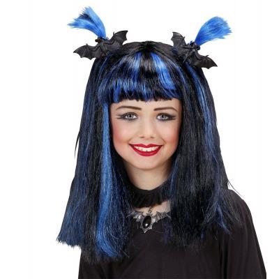 Halloween paróka, kék