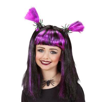 Halloween paróka, lila
