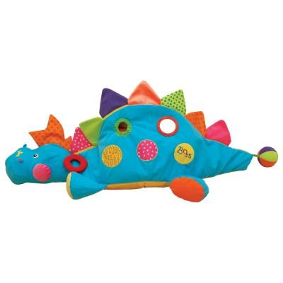 Ks Kids plüss Dínó műanyag labdákkal