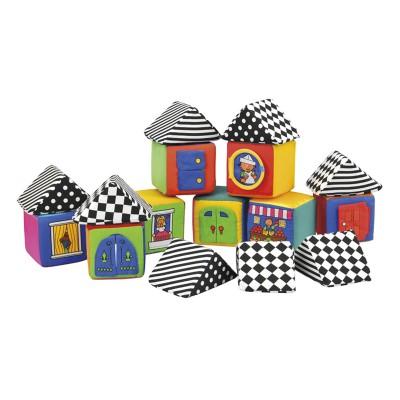 Ks Kids Knock Knock puha házépítő kis kockák