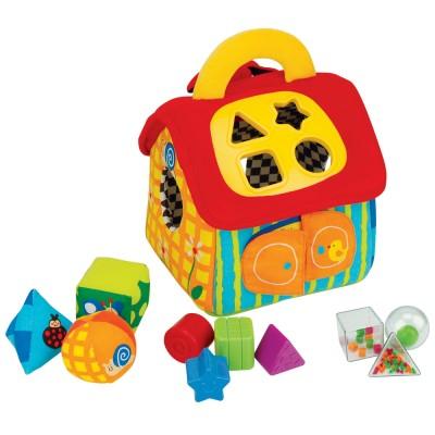 Ks Kids Patrick formakereső plüss házikója