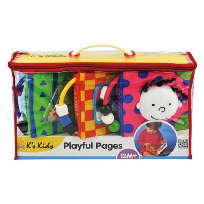 Ks Kids Plüss játékos kiskönyv