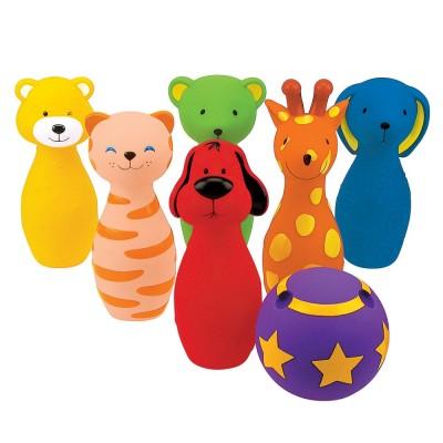 Ks Kids Színes műanyag baba bowling