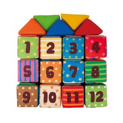 Ks Kids Tanuló puha építőkockák