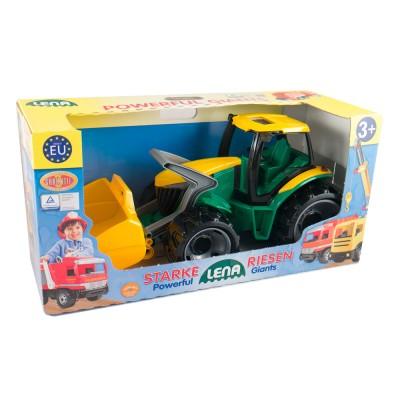 Lena Nagy markolós traktor dobozban