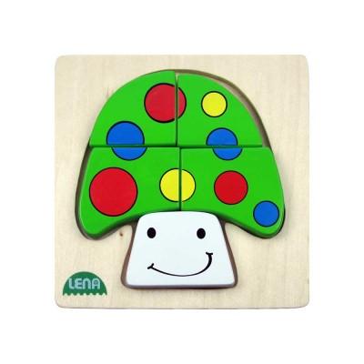 Lena gombás fa puzzle