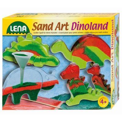 Lena homokkép készítő, dínós