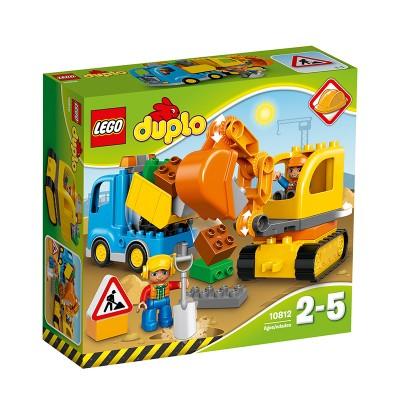 Lego Duplo Teherautó és lánctalpas 10812