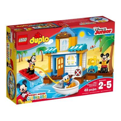 Lego Duplo Mickey és barátai tengerparti háza 10827