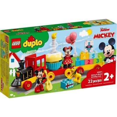 Lego Duplo Mickey & Minnie születésnapi vonata