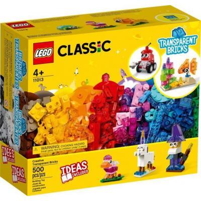 Lego Kreatív áttetsző kockák