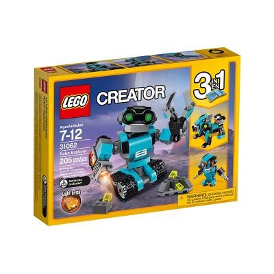 LEGO Creator Robot felfedező 31062