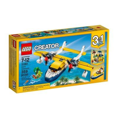 LEGO Creator Repülés a sziget felett 31064