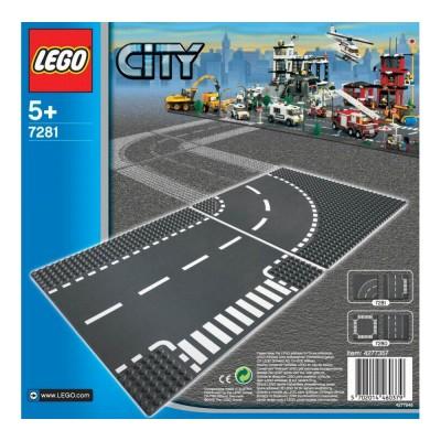 LEGO City Elégazás és kanyar 7281