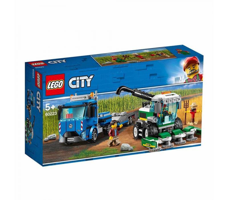 LEGO City Kombájn szállító 60223