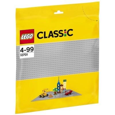 LEGO City Szürke alaplap Basic 10701