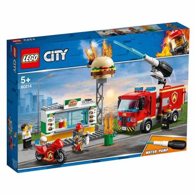 LEGO City Tűzoltás a hamburgeresnél 60214