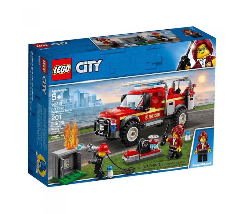 LEGO City Tűzoltó-parancsnoki rohamkocsi 60231