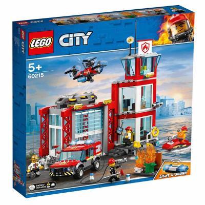 LEGO City Tűzoltóállomás 60215
