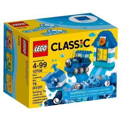 LEGO Classic Kék kreatív készlet 10706