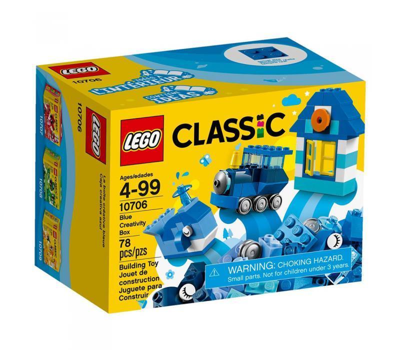 LEGO Classic Kék kreatív készlet