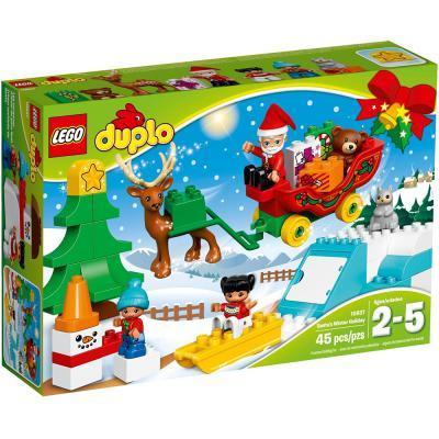 LEGO Duplo Mikulás téli ünnepe 10837