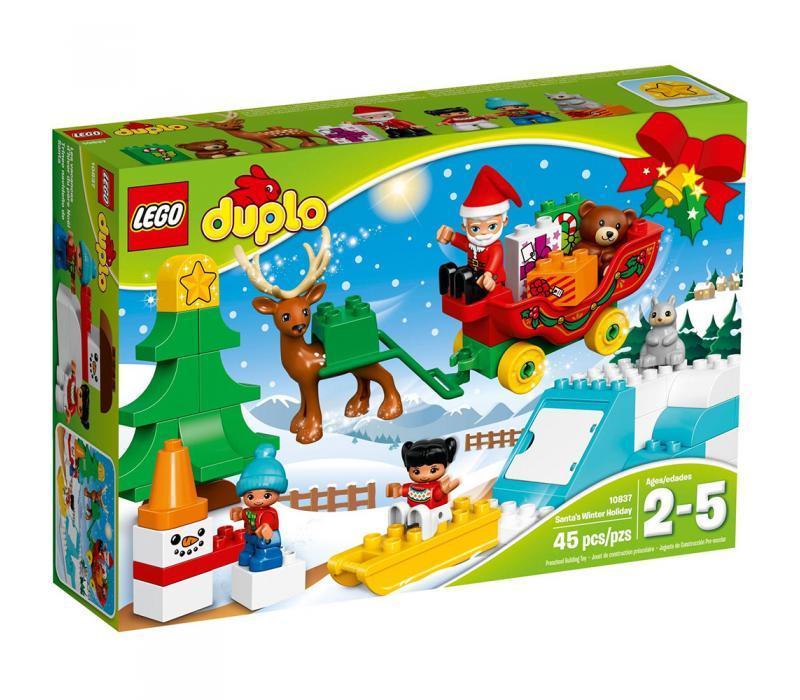 LEGO Duplo Mikulás téli ünnepe
