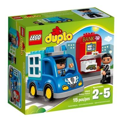 LEGO Duplo Rendőrjárőr 10809
