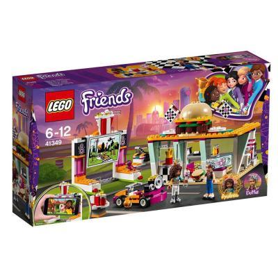 LEGO Friends Heartlake autósmozi és gyorsétterem 41349
