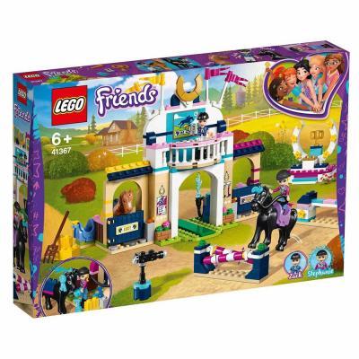 LEGO Friends Stephanie díjugrató pályája 41367