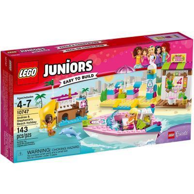 Lego Juniors Andrea és Stephanie tengerparti nyaralása 10747