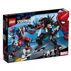 LEGO Super Heroes Pók robot vs. Venom 76115