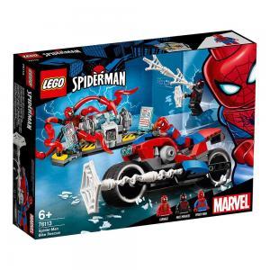 LEGO Super Heroes Pókember motoros mentése 76113