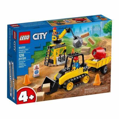 LEGO City Építőipari buldózer 60252