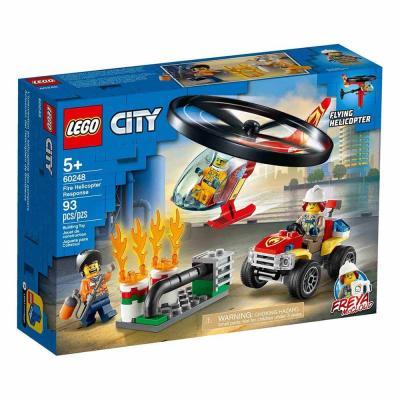 LEGO City Sürgősségi tűzoltó helikopter 60248