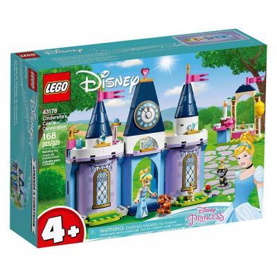 LEGO Disney Hamupipőke ünnepe a kastélyban 43178