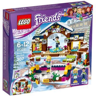 LEGO Friends Jégpálya a havas üdülőhelyen