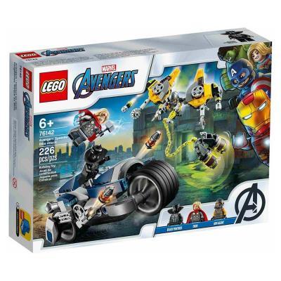 LEGO Super Heroes Bosszúállók motoros támadás 76142