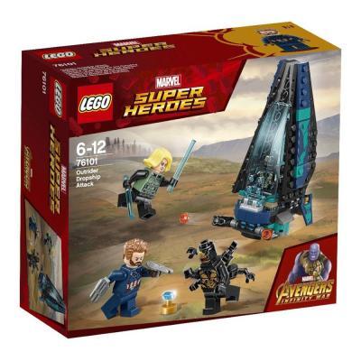 LEGO Super Heroes - Outrider Dropship támadás 76101