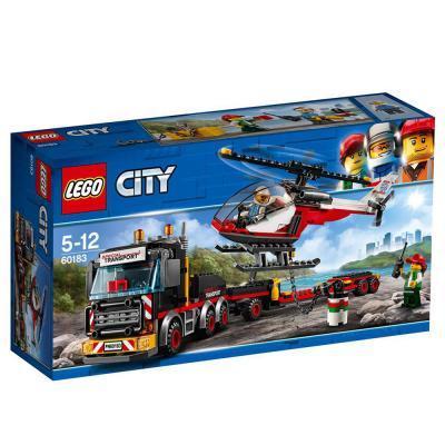 Lego City Nehéz rakomány szállító 60183