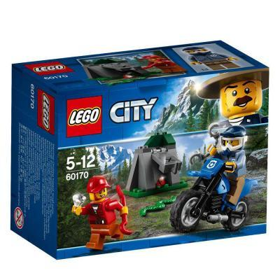 Lego City Terepjárós üldözés 60170