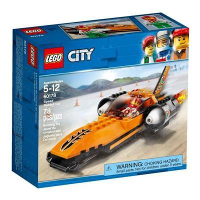 Lego City Sebességrekorder autó 60178