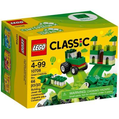 Lego Classic Zöld kreatív készlet 10708