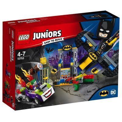 Lego Juniors Joker támadása a Denevérbarlang ellen 10753