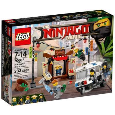 Lego Ninjago Városi üldözés 70607